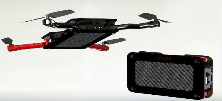 Anura mini drone de bolsillo