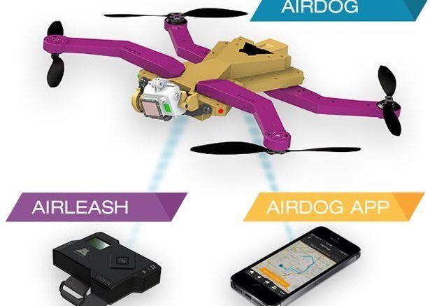 Airdog mini drone