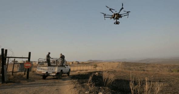 El uso de drones en ayuda humanitarias