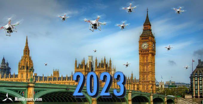 El futuro y los drones en 2023