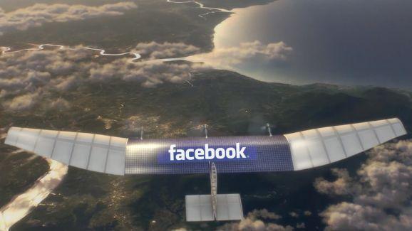 Facebook y el uso de drones