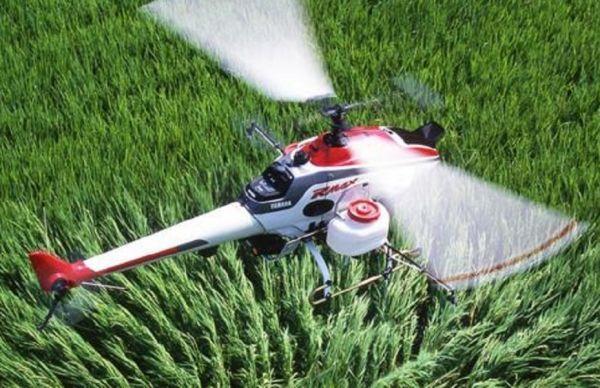 Uso de los drones en la agricultura