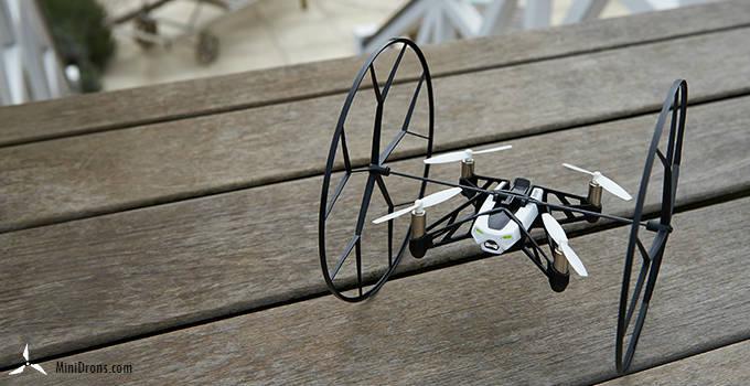 Rolling spider parrot mini-drones
