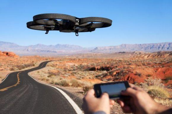 AR.Drone 2.0, drones controlado con el móvil