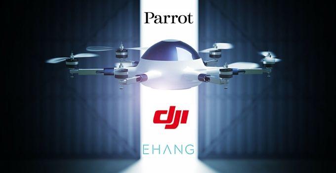 mejores fabricantes de drones