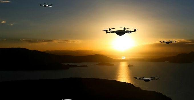 Drones comerciales en el horizonte